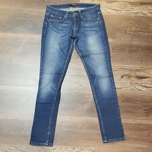 Levi's 524 Too Super-low Jeans sz 3m, dark fading